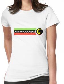 Air Wakanda- Logo Womens Fitted T-Shirt