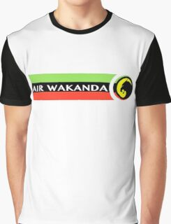 Air Wakanda- Logo Graphic T-Shirt