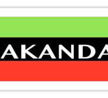 Air Wakanda- Logo Sticker