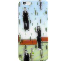 Beatles and Magritte iPhone Case/Skin