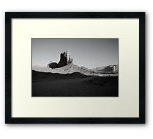 Camel Butte at Sunset in Monument Valley, Utah Framed Print