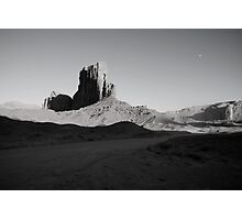 Camel Butte at Sunset in Monument Valley, Utah Photographic Print