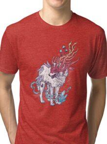 Spirit Animal - Wolf Tri-blend T-Shirt