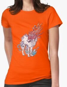 Spirit Animal - Wolf Womens Fitted T-Shirt