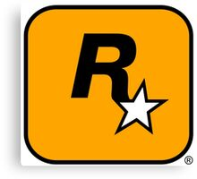 GTA Rockstar Games Logo  Canvas Print