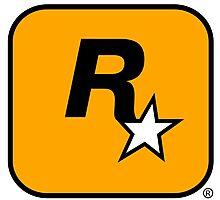 GTA Rockstar Games Logo  Photographic Print