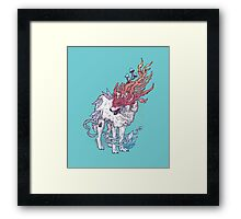 Spirit Animal - Wolf Framed Print