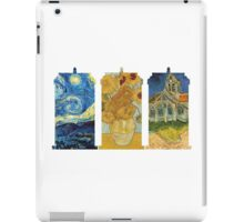 Vincent and The Doctor (White) iPad Case/Skin