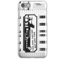Roll Your Own Bull Durham iPhone Case/Skin