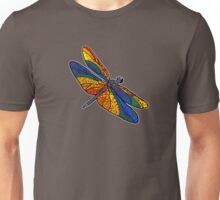 Dragonfly Rainbow Unisex T-Shirt