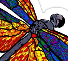 Dragonfly Rainbow Sticker