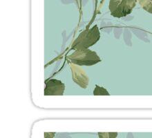 Super Smash Bros. Floral Sticker
