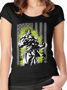 Super Saiyan Broly Shirt - RB00001 Women's Fitted Scoop T-Shirt