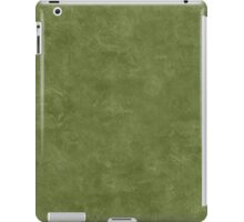 Cedar Green Oil Pastel Color Accent iPad Case/Skin