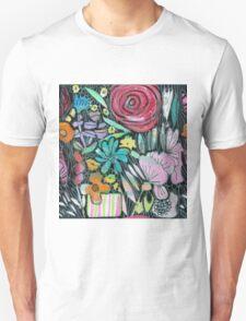 Little Stripey Vase Unisex T-Shirt
