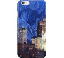 Utah skyline view  iPhone Case/Skin