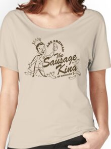 Abe Froman Sausage King of Chicago Women's Relaxed Fit T-Shirt