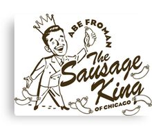 Abe Froman Sausage King of Chicago Canvas Print