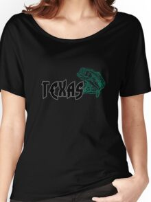 FISH TEXAS VINTAGE LOGO Women's Relaxed Fit T-Shirt