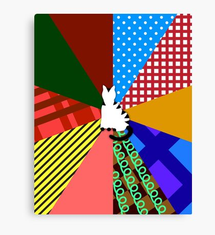 Sixth Doctor Who (Colin Baker) Canvas Print