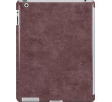 Deep Mahogany Oil Pastel Color Accent iPad Case/Skin