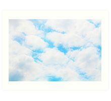 Cloud Happy Art Print