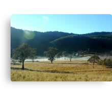 Beautiful Morning Australian Countryside Canvas Print
