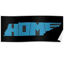 Tennessee HOME state design Poster