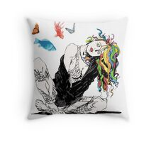 Delirium The Sandman Vertigo Comics Throw Pillow