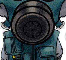 Smoke Chibi Sticker