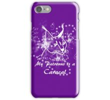 Caracal Patronus iPhone Case/Skin