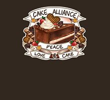 Cake Alliance Choc Version Womens Fitted T-Shirt