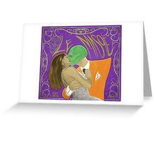 Le Masqe Greeting Card