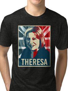 Theresa May Poster Tri-blend T-Shirt