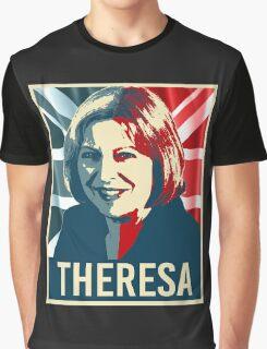 Theresa May Poster Graphic T-Shirt
