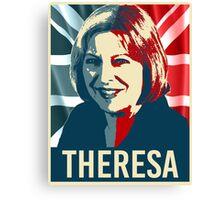 Theresa May Poster Canvas Print