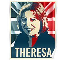 Theresa May Poster Poster