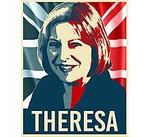 Theresa May Poster Photographic Print