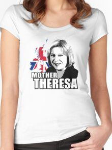 Mother Theresa Women's Fitted Scoop T-Shirt