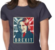 Theresa May Brexit Womens Fitted T-Shirt