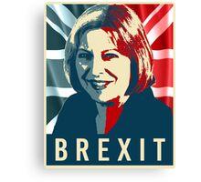 Theresa May Brexit Canvas Print