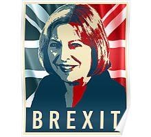 Theresa May Brexit Poster