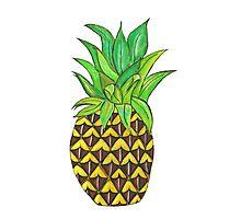 Perky Pineapple  Photographic Print
