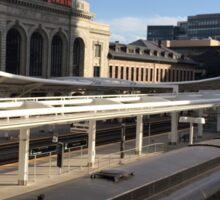 Classic Train, Union Station, Denver, Colorado Sticker