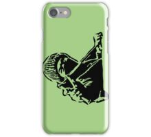 Rebel Protestor with Slingshot iPhone Case/Skin
