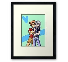 Heroshipping Love Framed Print