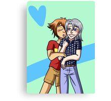 Heroshipping Love Canvas Print