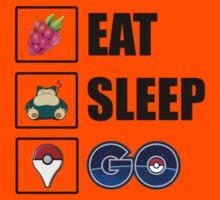 Eat, Sleep, GO - Pokemon GO Kids Tee