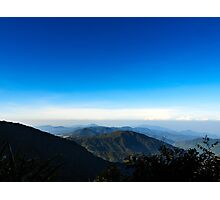 Mount Irau Photographic Print