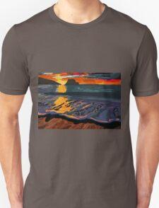 Foggy Sunset Unisex T-Shirt